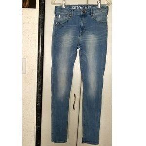 H&M Super Skinny Boy Blue Jeans, US 14y+
